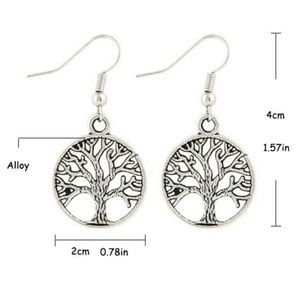 Jewelry - Tree Of Life Earrings